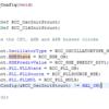 CubeMX4.20のHSEクロック関連出力コードのバグ?