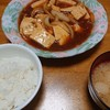 味しみ肉豆腐→ささみカツとしりしり?
