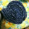 ゴム編みのマフラー   30   、 完成!