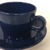 アラビア社の超定番品ティーマ Teemaのブルーです。コーヒーカップ&ソーサー ブルー