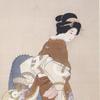 上村松園の描くキモノは意外と「粋」好み? 〜長野市「水野美術館」にて。