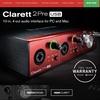 USB Type C接続対応のオーディオインターフェイス『Clarett Pre USB』シリーズが発売