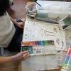 4年生:図工 自画像を描く