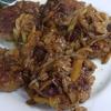 幸運な病のレシピ( 1904 )朝:ハンバーグ、豚バラブロック照り焼き、魚2種、味噌汁、マユのご飯
