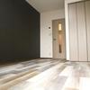 シックな205号室と、爽やかに彩った206号室 富山市安野屋町 1K メゾン安野屋