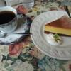 グロヴナーカフェさんのチーズケーキ
