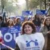 バルセロナでヨーロッパ最大の難民支持デモ