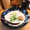 西心斎橋のぼっこ志で鶏白湯のラーメンを食べてきました