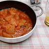 夕食:大根の白菜キムチ煮から次々に…