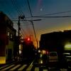 月と信号と