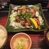 216. 塩葱ダレの醤油麹漬け炭火焼きチキン定食(大戸屋)