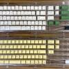 MINILA Airキーボードのキーキャップを交換、2色成型キャップはキータッチが変わる