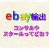 ebay輸出のコンサルやスクールってどお?独学だと稼げない?