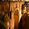 ロンダ・ヌエボ橋の夜景【スペイン旅行記】