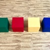 【簡単!手作りおもちゃ】大きな牛乳パック積み木の作り方〈正方形 原型作り〉