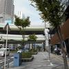 カー用品の神様、住野敏郎の像がオートバックスカーズ出入橋店にある【大阪市北区】