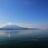 太崎観音の岬(桜島を眺める)