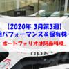 【株式】週間運用パフォーマンス&保有株一覧(2020.3.19時点)  ポートフォリオは阿鼻叫喚!