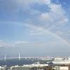 忘れない横浜の虹