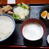 ます道庵(菊川)の鶏からあげ定食