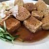 台南   臭豆腐を食べました