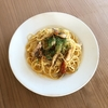 鯖フィレ缶のスパゲッティ