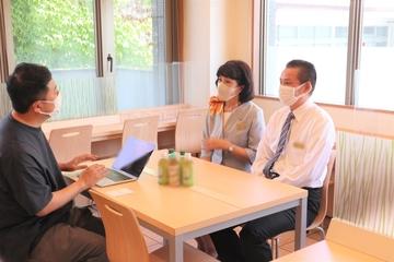 7月説明会告知&大津駅前に行ってきました! スーパーホテル2年目支配人のお店に訪問