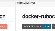 GitHub の README.md をバッジでオシャレにできる Shields.io と dockeri.co