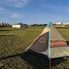 天塩町の鏡沼海浜公園キャンプ場でキャンプしてきました。