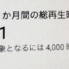 総再生時間1000時間突破!ようやく・・・!