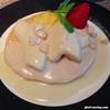 歴史あるホテルで食べるパンケーキ