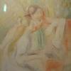 イタリアの絵本の梨園の娘