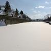 鶴ヶ城のお堀(福島県会津若松)