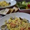 アサリとエビのスパゲティ【レシピ】