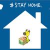 ☆テレワークする人を応援したい ★ #STAY HOME