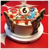 息子の誕生日ケーキとアイシングクッキー