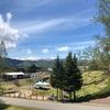 岐阜県ひるがの高原『牧歌の里』 〈花編〉 一面のチューリップと芝桜 遠くに雪山 美しすぎる風景に時を忘れる