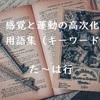 感覚と運動の高次化理論 用語集②(た行~は行)