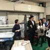 台湾学生とのファクトリーツアー