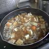 幸運な病のレシピ( 463 )朝:鶏唐揚、鮭、豚と蕪の葉とタケノコの炒め、煮しめ