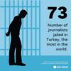 世界でジャーナリストが最も多く収監されている国