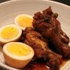 【圧力鍋】鶏の手羽元と卵の酢鶏の作り方(レシピ)