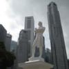 【ラッフルズ卿上陸地点】シンガポール/ラッフルズプレイス