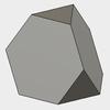 Fusion360で、切頂四面体をモデリングする