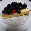 直球・カナダ産ブルーベリーのチーズタルト