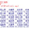 都道府県別の生活習慣病による死亡者数のデータ分析4 - 2015年度と2006年度の比較。東京はほとんど変わらず。