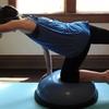 若年アスリートにおける脊椎の整合性(アスリートが不安定なサーフェス上で膝立ちで行うコアの安定性エクササイズは、深部組織の活性化とコアのバランスを効果的にトレーニングするために実施できる)