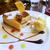 飲み物おかわり自由。ルーフガーデンレストランのアフタヌーンティーセット@鹿児島市呉服町
