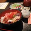 倉敷の千成 海鮮丼 旨くて600円!