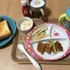 今日の朝ごはん☆ほうれん草ホットケーキ